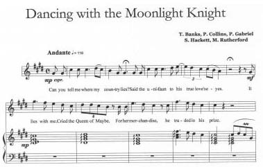 dancing in the moonlight sheet music